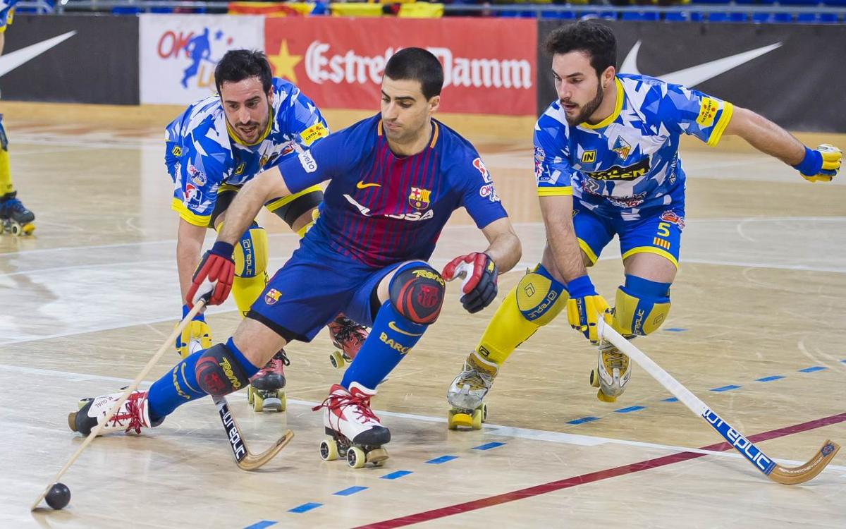 El Barça Lassa - Caldes, primer partido de la temporada en el Palau Blaugrana