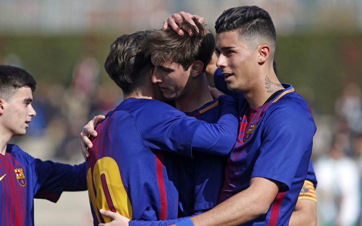 Juvenil A - El Olivar: Eficacia goleadora (5-0)