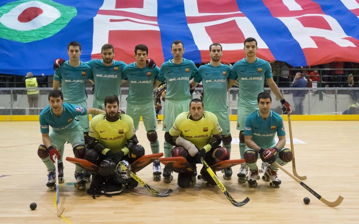 Hockey Forte – Barça Lassa: Un liderat en joc a la Toscana!