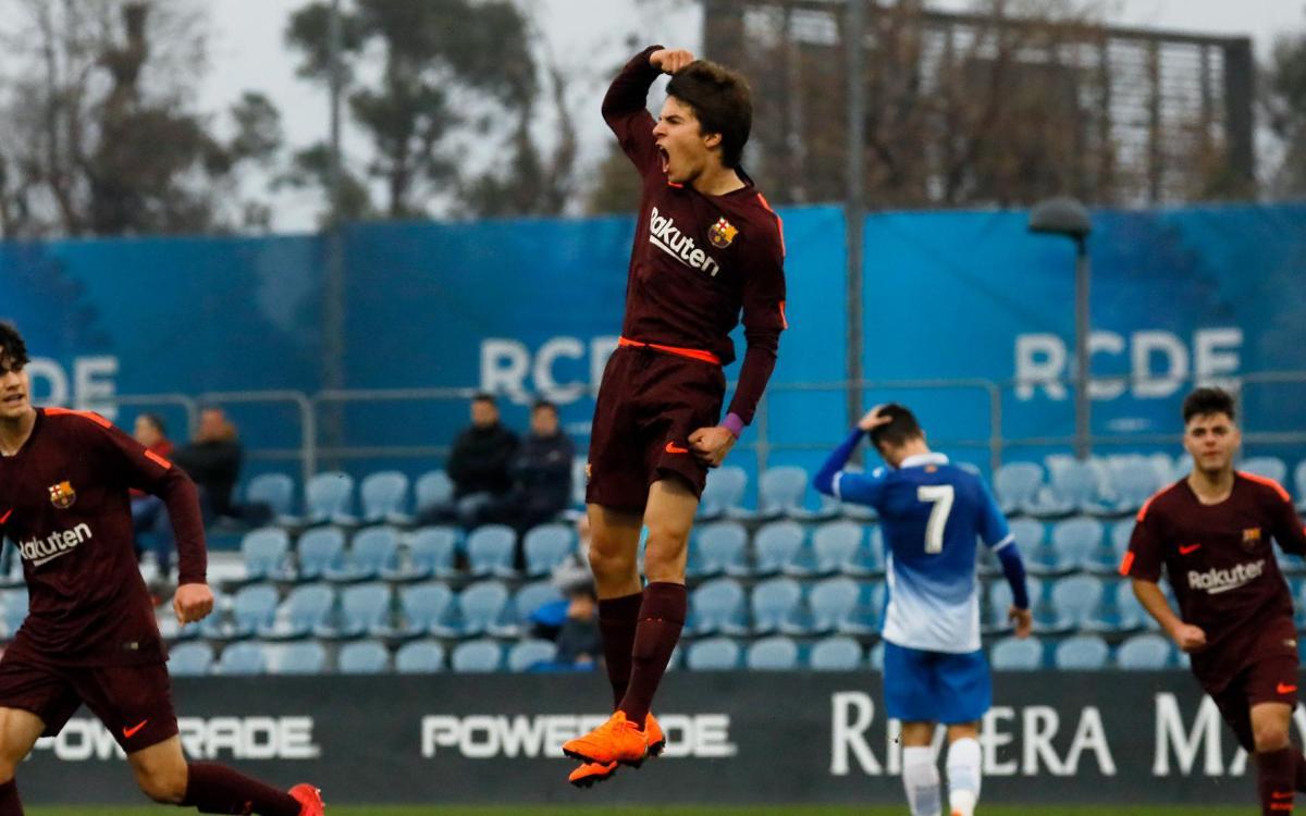 RCD Espanyol – Juvenil A: Domini sense premi (1-1)