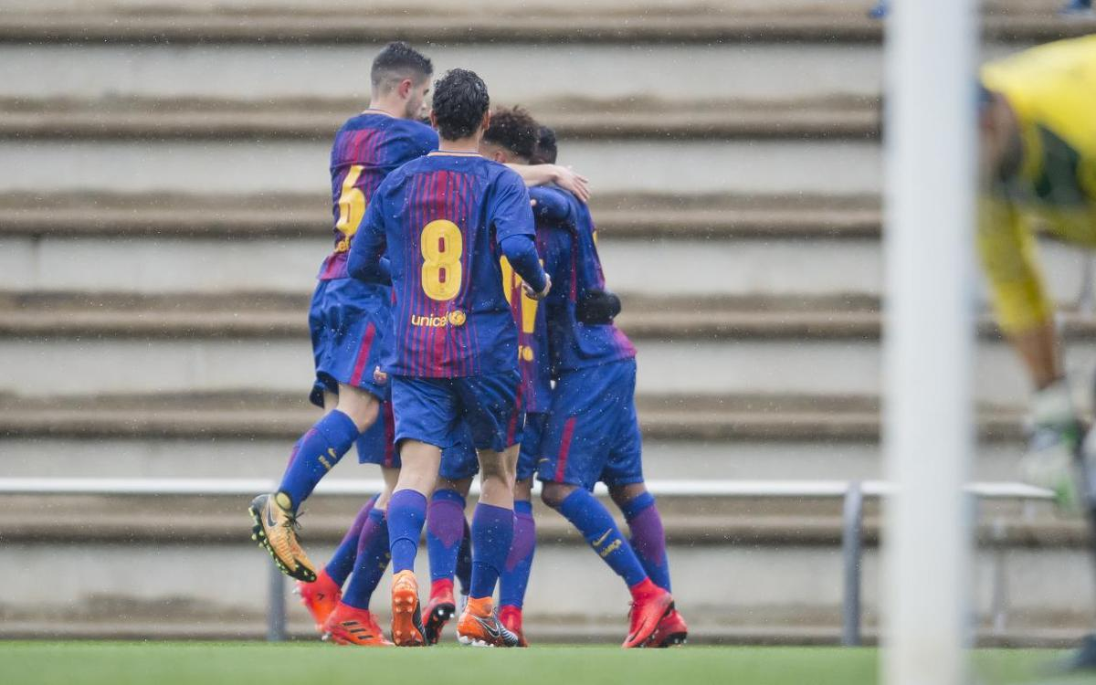 The top five goals of the week from La Masia