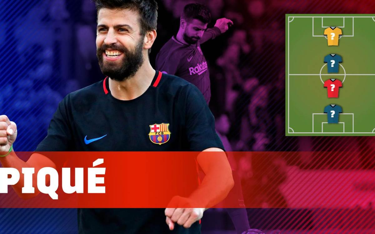 Vidéo - Le top 4 des joueurs préférés de Gerard Piqué