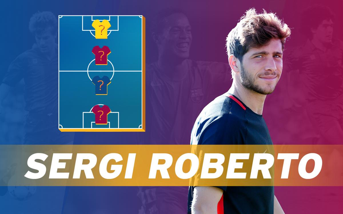 My Top 4: Sergi Roberto reveals his heroes