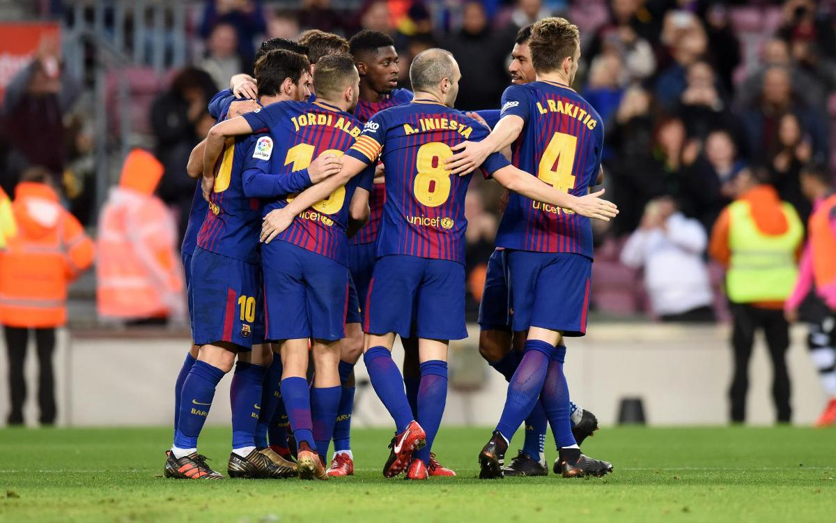 Records in sight for Valverde's Barça