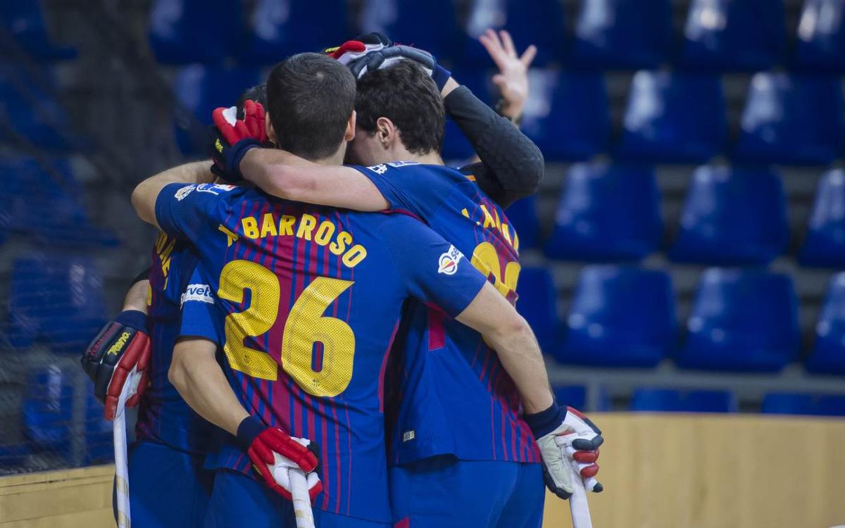 Barça Lassa-Recam Làser Caldes: Golejada de líder (7-2)