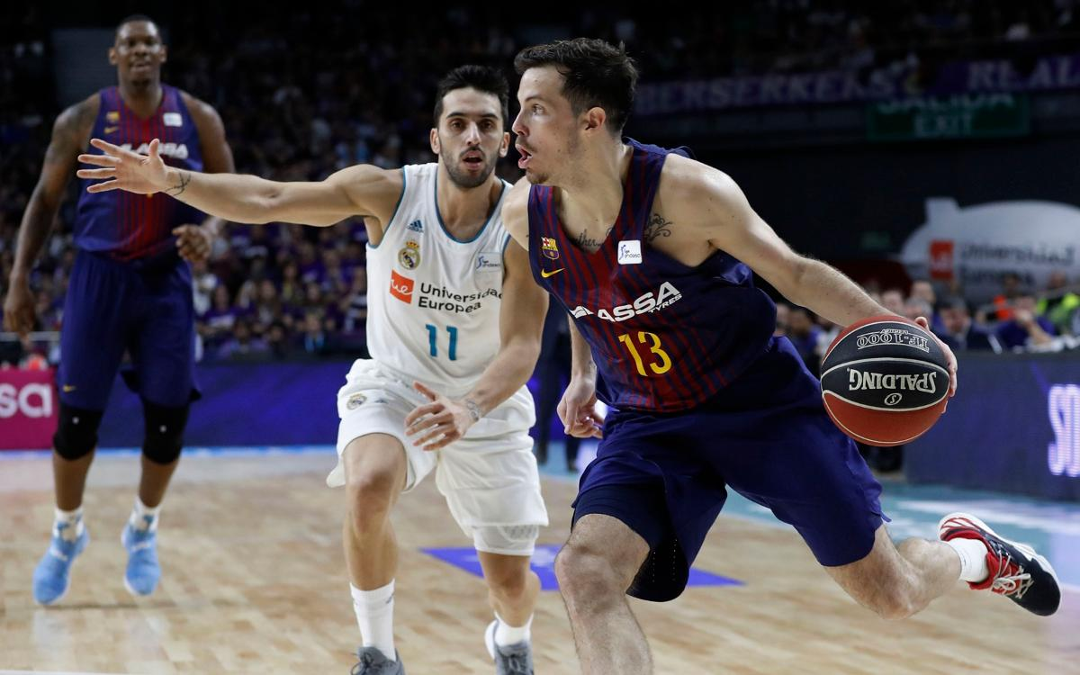 Real Madrid - FC Barcelona Lassa: The first Clásico is blaugrana (80-84)