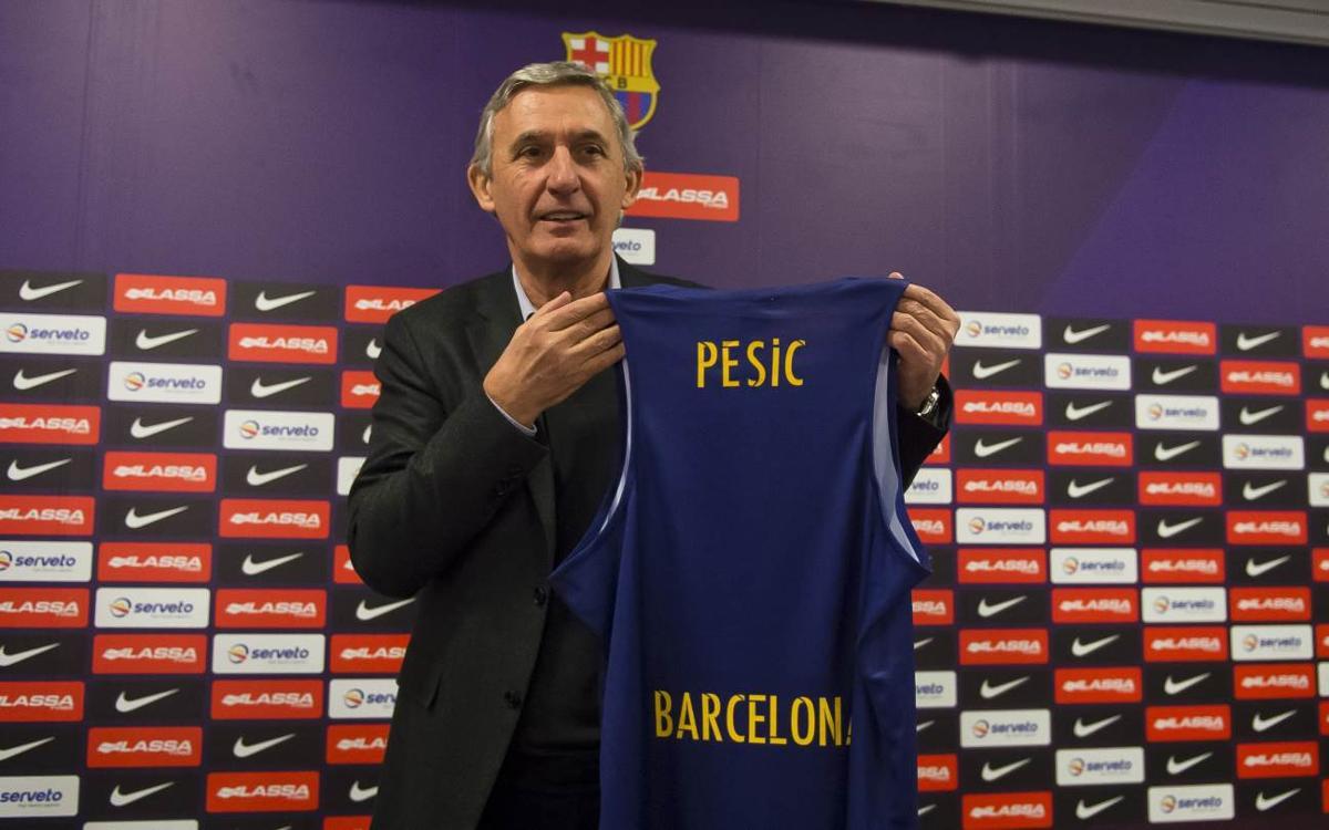 "Svetislav Pesic: ""Estic preparat per ajudar el meu Club"""