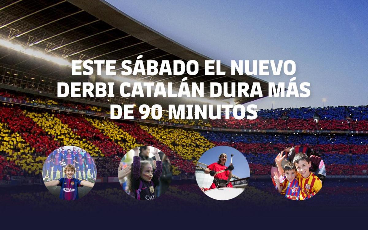 Actividades previas al Barça - Girona