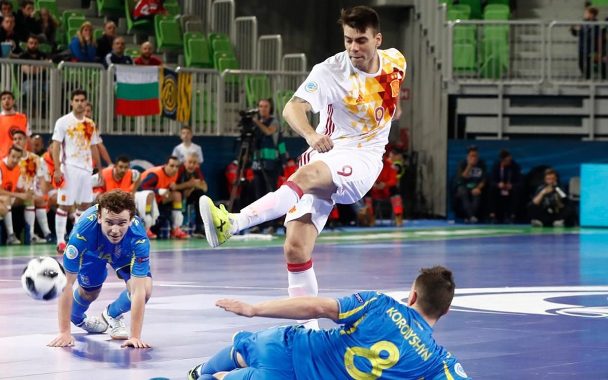 Color azulgrana en las semifinales del Europeo