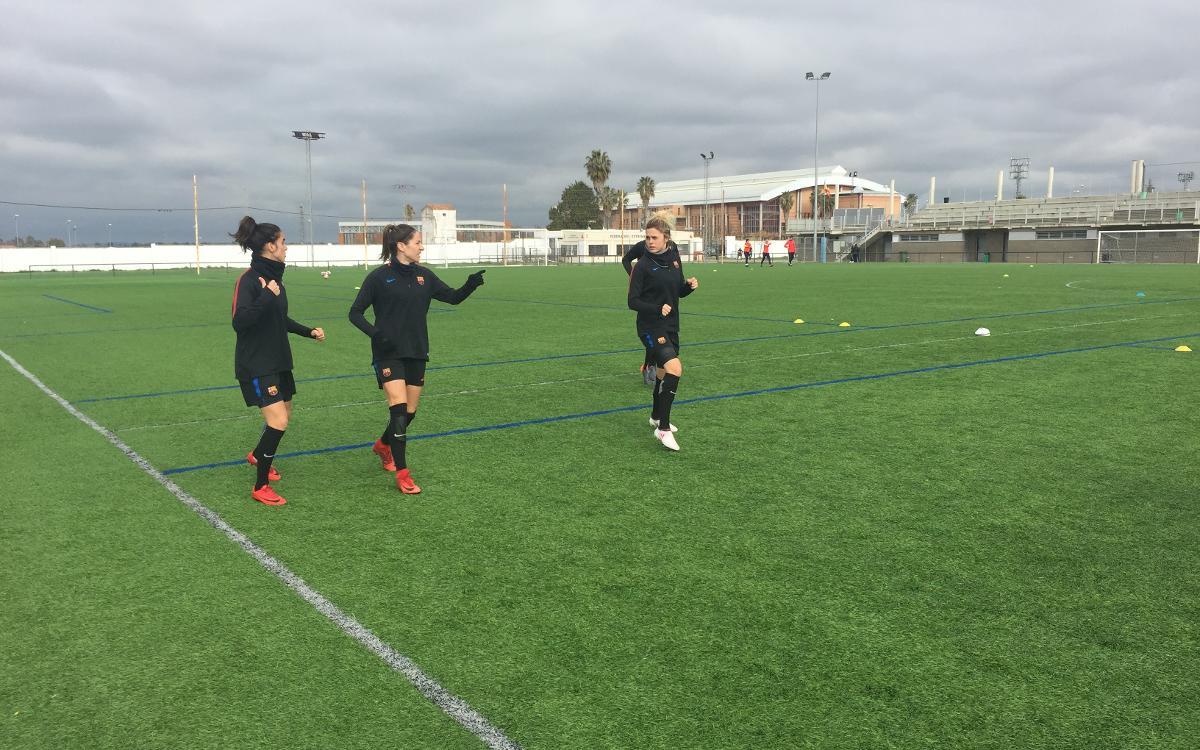 Un día en Badajoz con el FC Barcelona Femenino