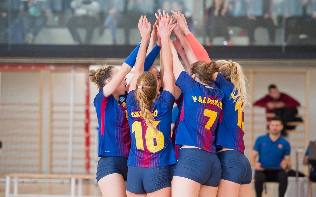 El CVB Barça, a tocar de la permanència (0-3)