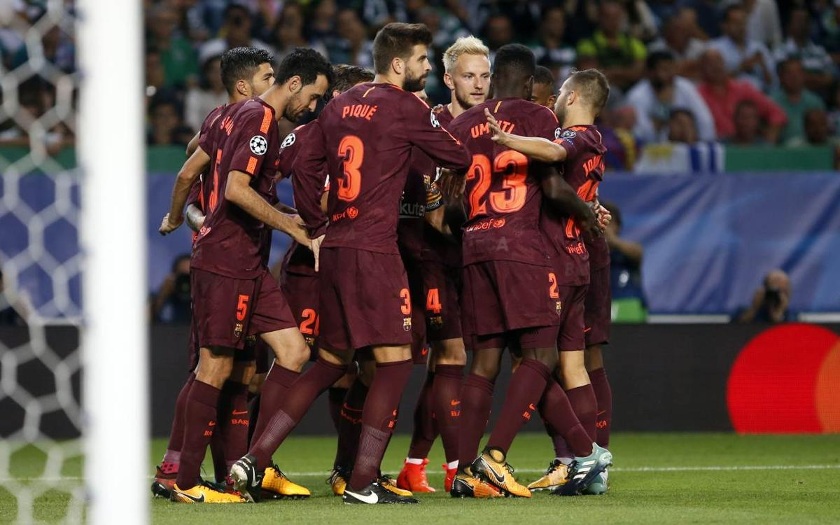 Sporting Clube Portugal 0-1 FC Barcelona: Lions tamed in Lisbon