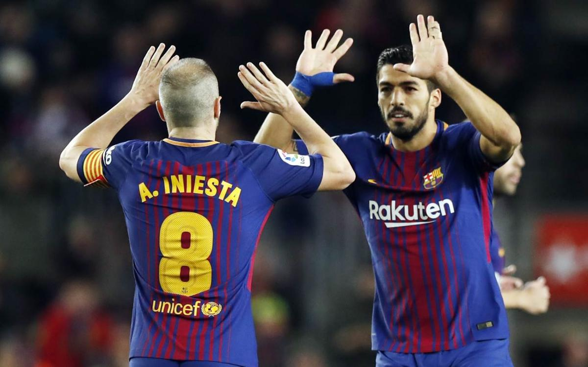 Barça equal best opening run in league