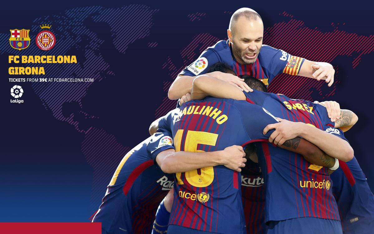 When and where to watch FC Barcelona-Girona
