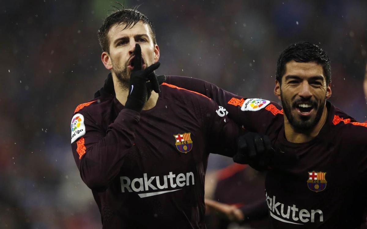 RCD Espanyol – FC Barcelona: All square in the rain (1-1)