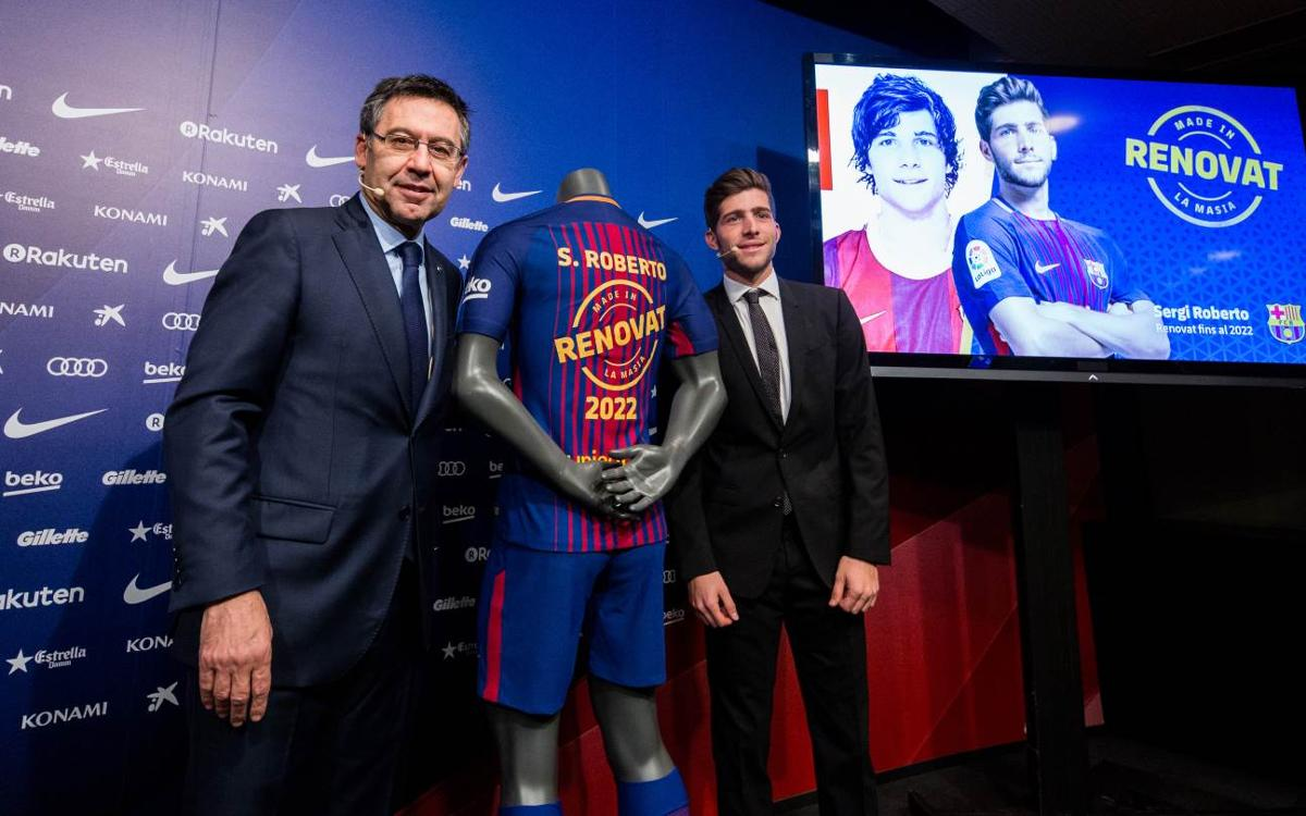 Sergi Roberto: 'I want to stay as long as I can'