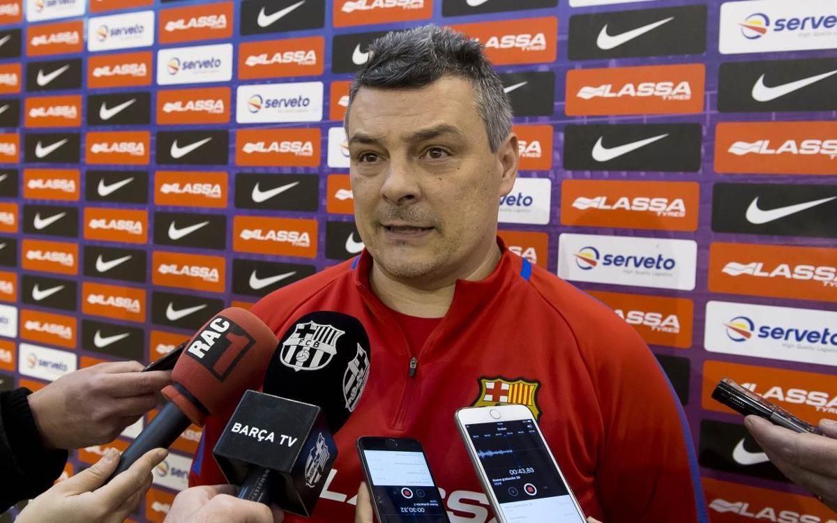 """Xavi Pascual: """"En situacions difícils necessitem el Palau"""""""