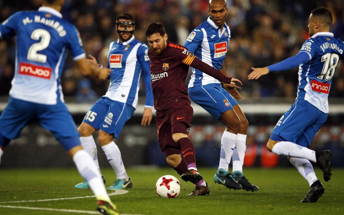 RCD Espanyol 1-0 FC Barcelona: Derby defeat