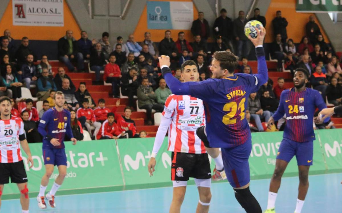 Fertiberia Port Sagunto 29-33 Barça Lassa: Back from the break, dominant as ever