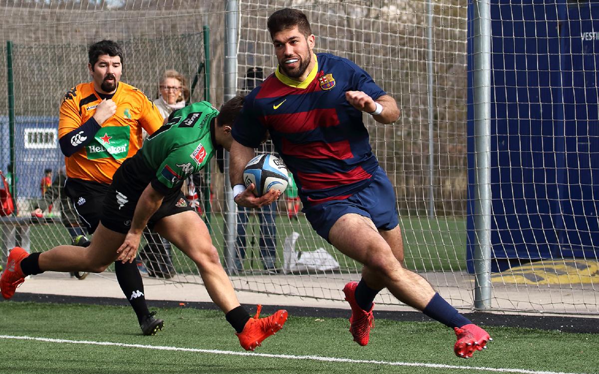 El Barça s'enfronta al Senor Independiente Rugby després de l'aturada de seleccions