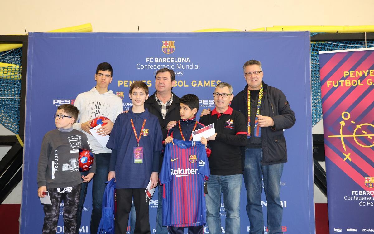 Celebrado el Torneo Penyes Futbol Games a la Federación de Peñas del Barcelonés Este
