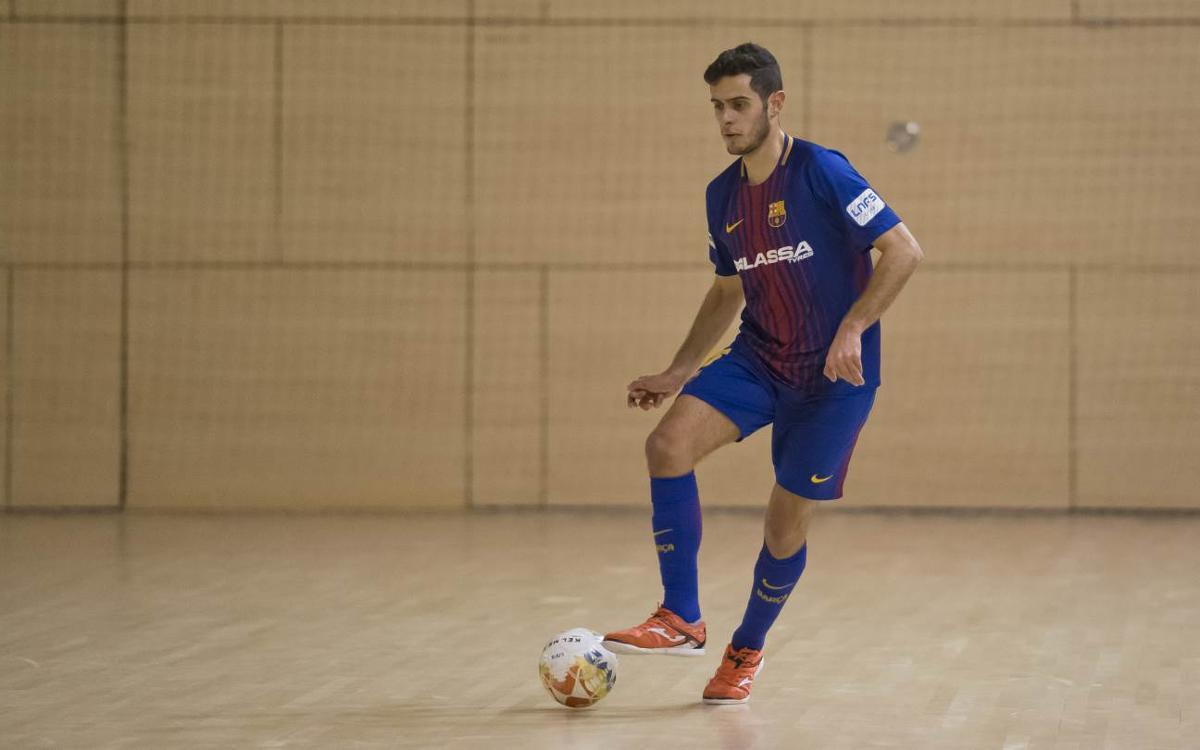 Manzanares FS – Barça Lassa B (4-0): La primera part resulta decisiva