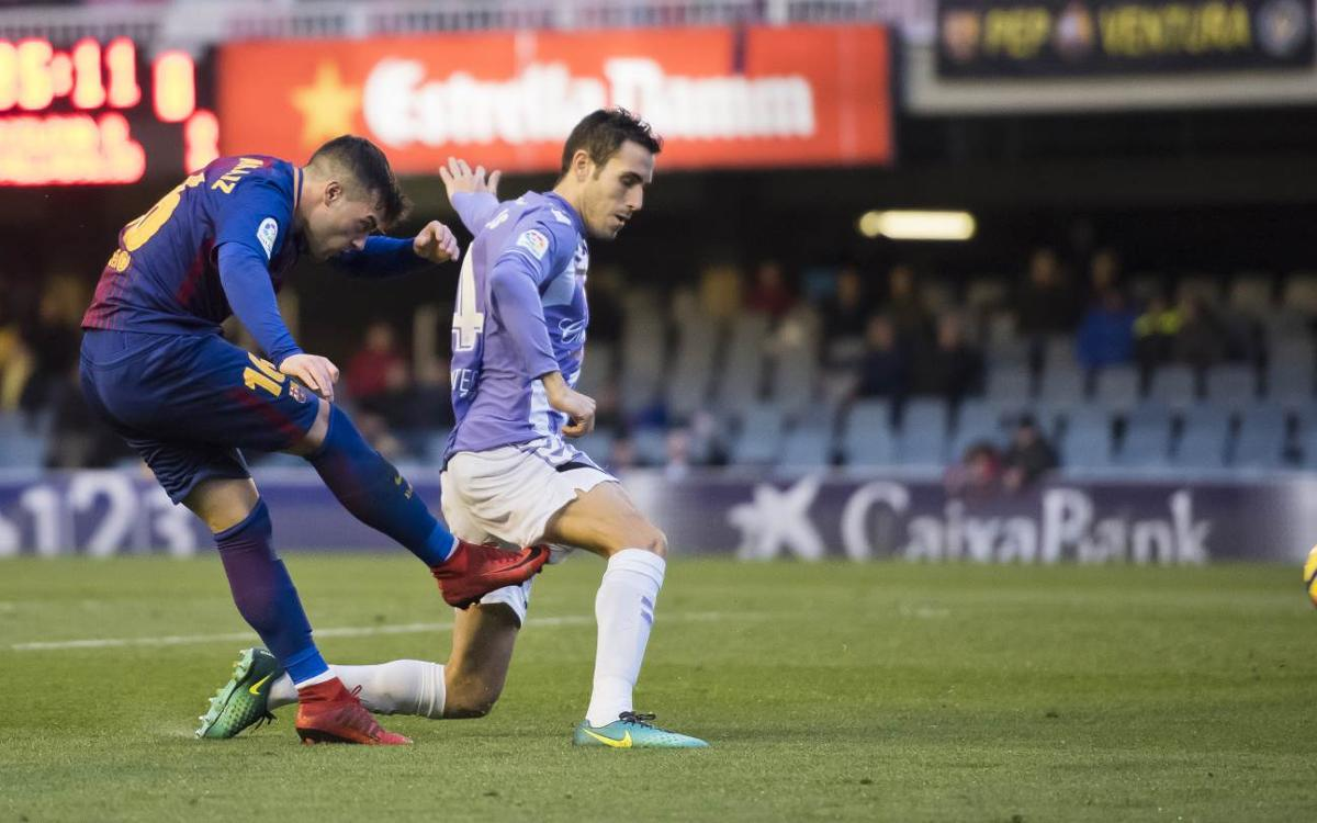 FC Barcelona B 0-1 Real Valladolid: Costly defeat for the reserves