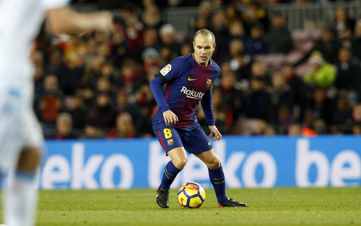 Another Iniesta masterclass against Deportivo