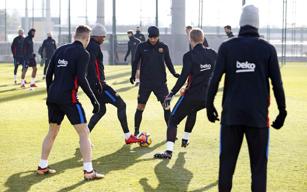 Return to training with El Clásico on the horizon