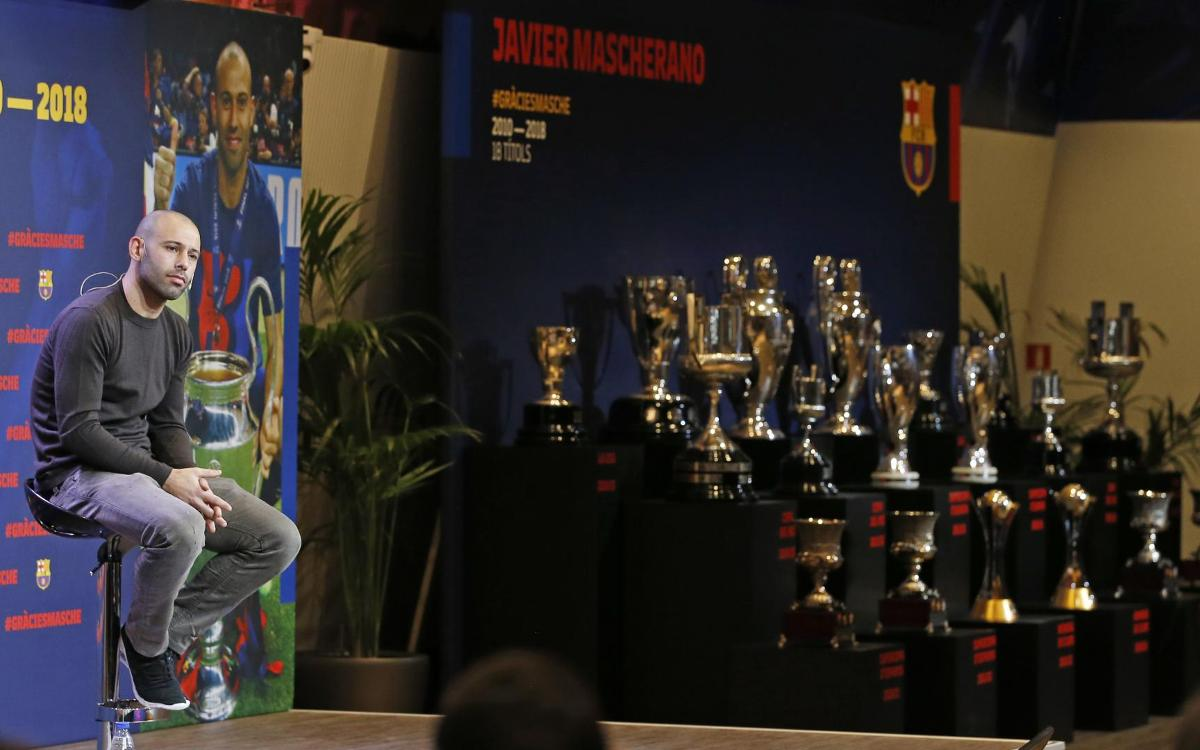 Javier Mascherano: 'It's been a dream and now it's time to wake up'