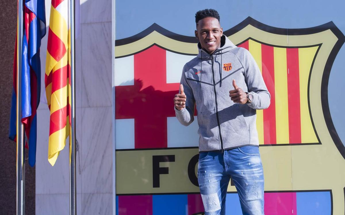 Yerry Mina: 'Being here makes me indescribably proud'
