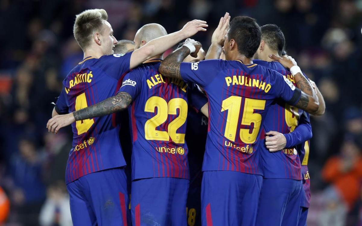 The month of January is key for Barça