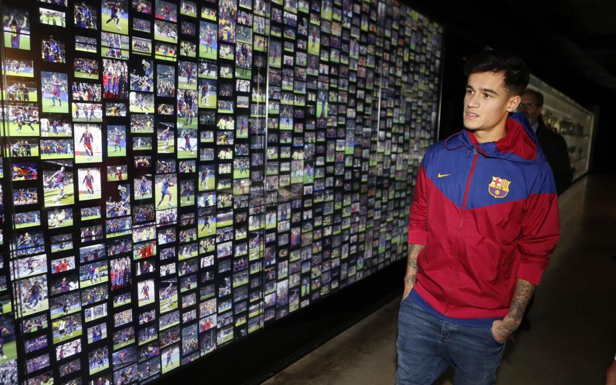 Inside View of Coutinho's first day in Barcelona