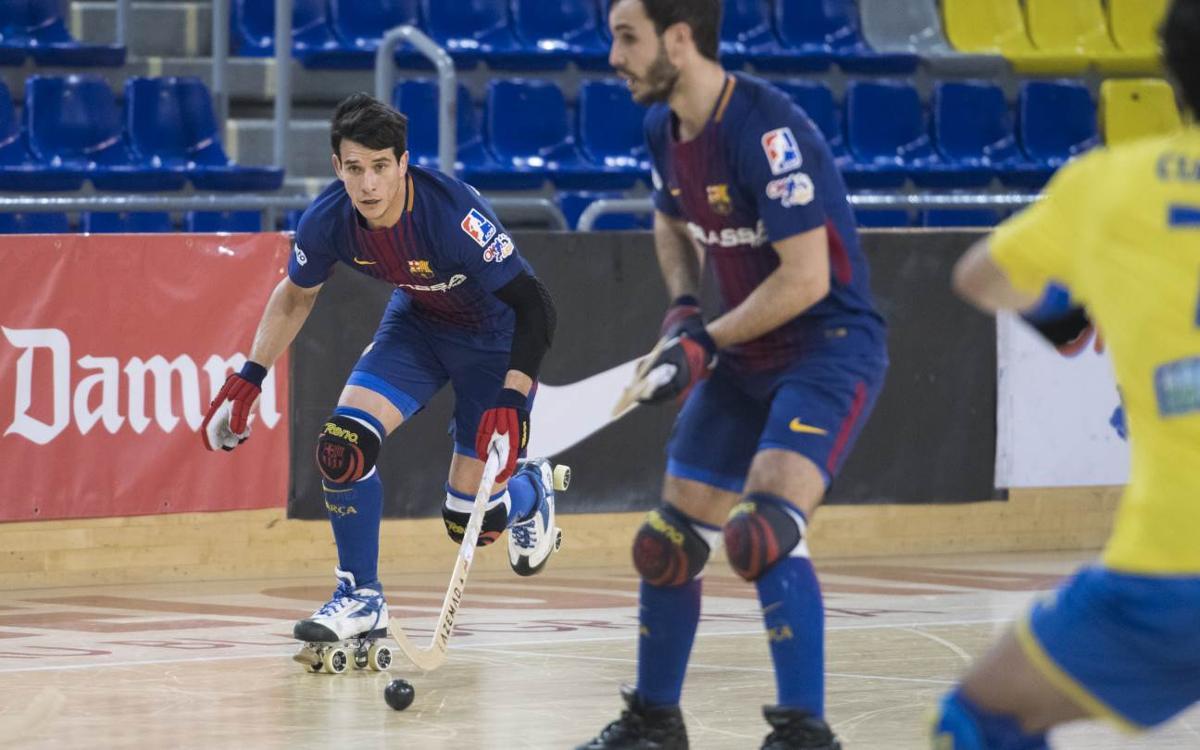 Barça Lassa – Asturhockey: Golejada per començar la segona volta (10-1)