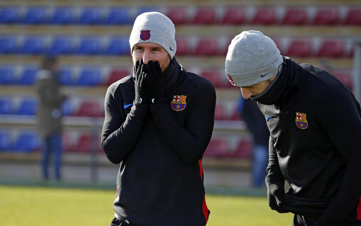 Barça back to work on 30 December