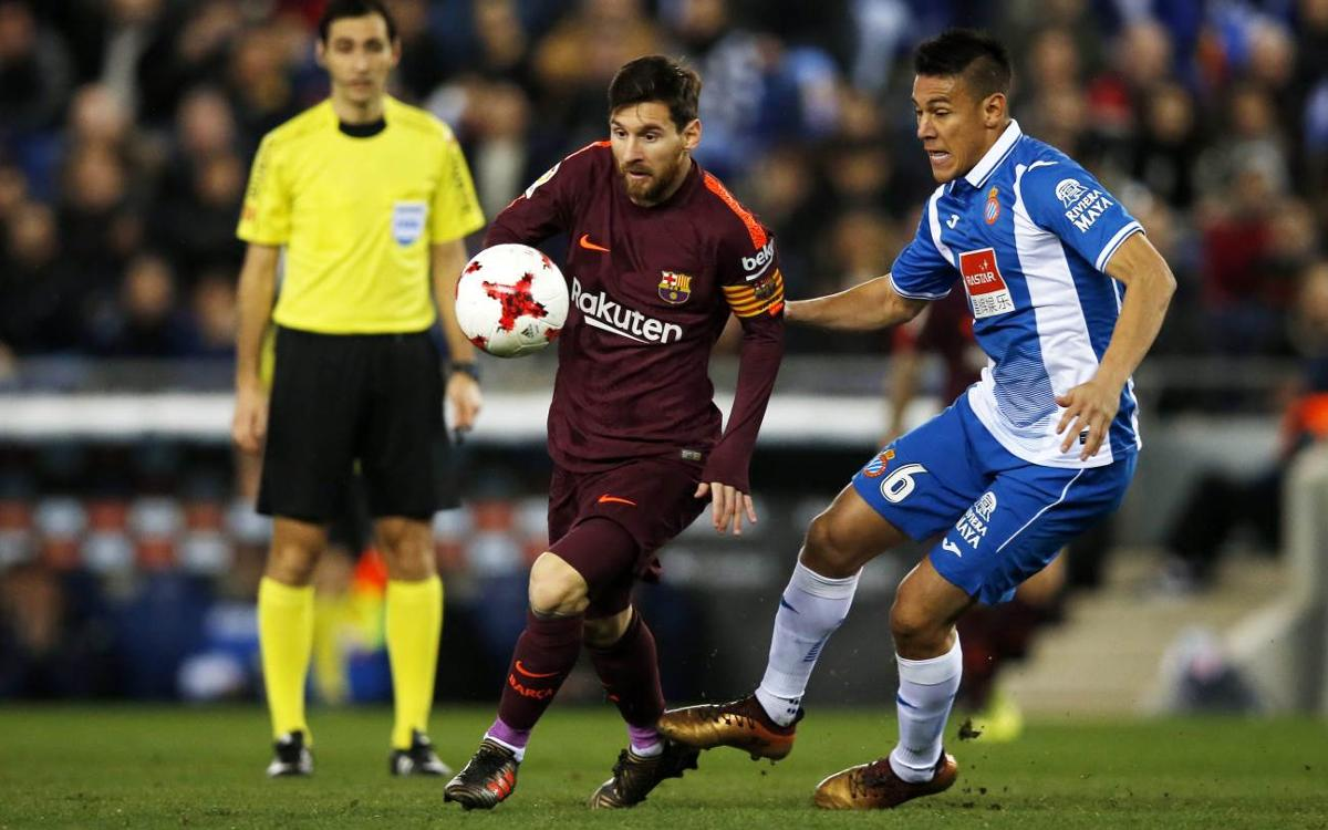 Espanyol 1-0 Barça: Highlights of the Copa del Rey first leg at the RCDE Stadium