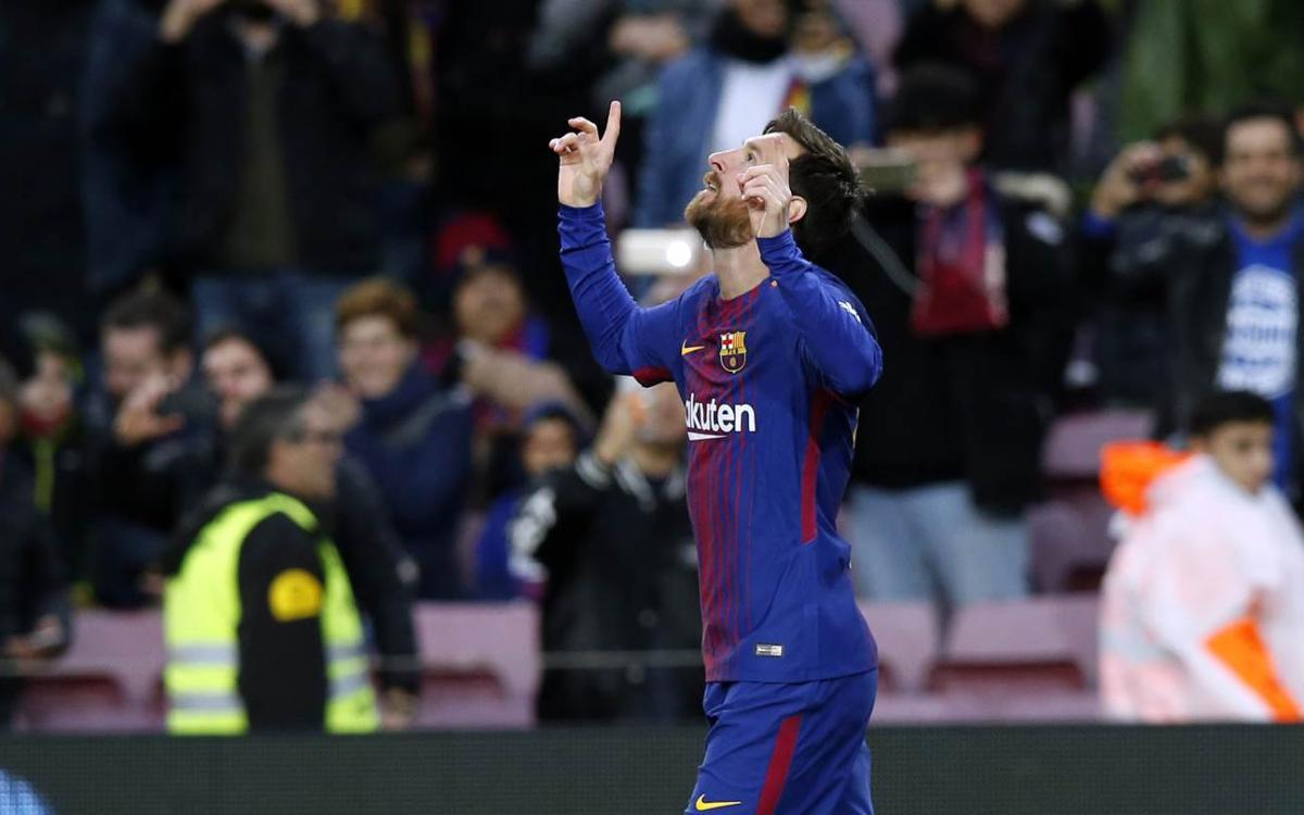 Lionel Messi en Liga: 400 partidos y 365 goles