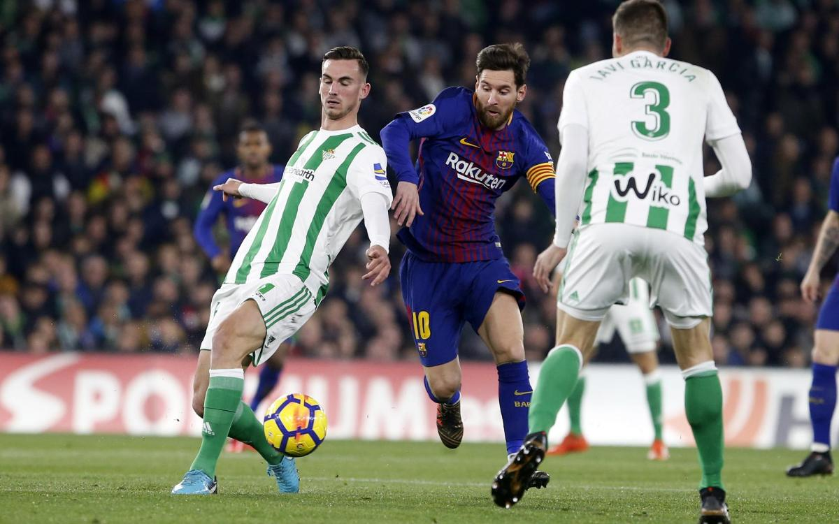 Leo Messi gives another masterclass at Betis