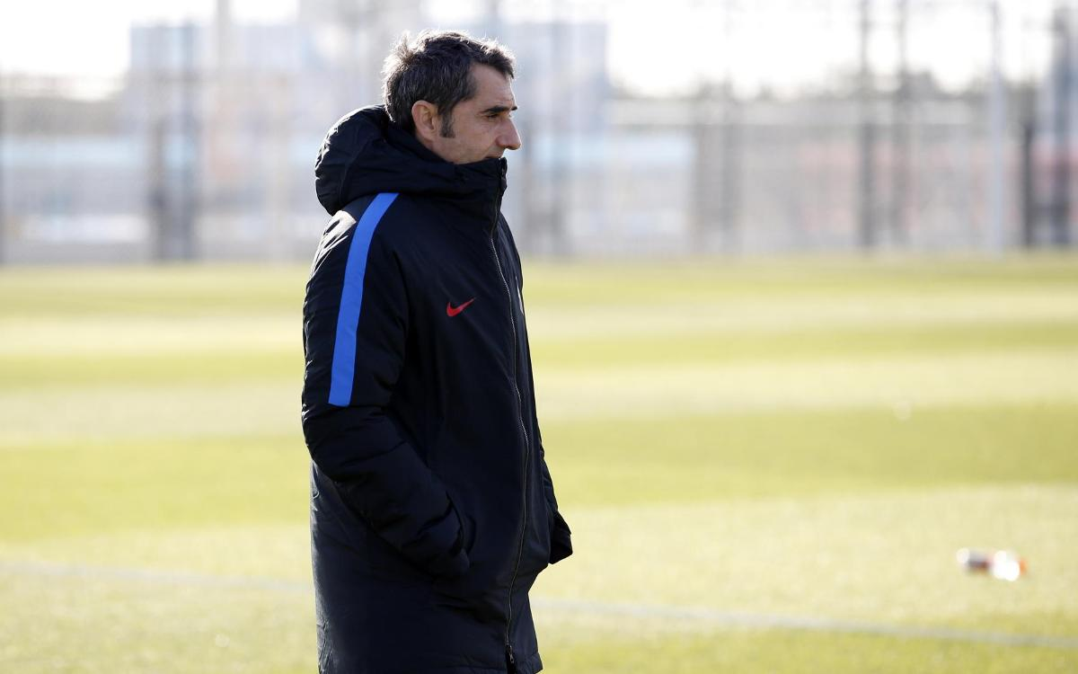 Ernesto Valverde: 'We want to reaffirm our good form'