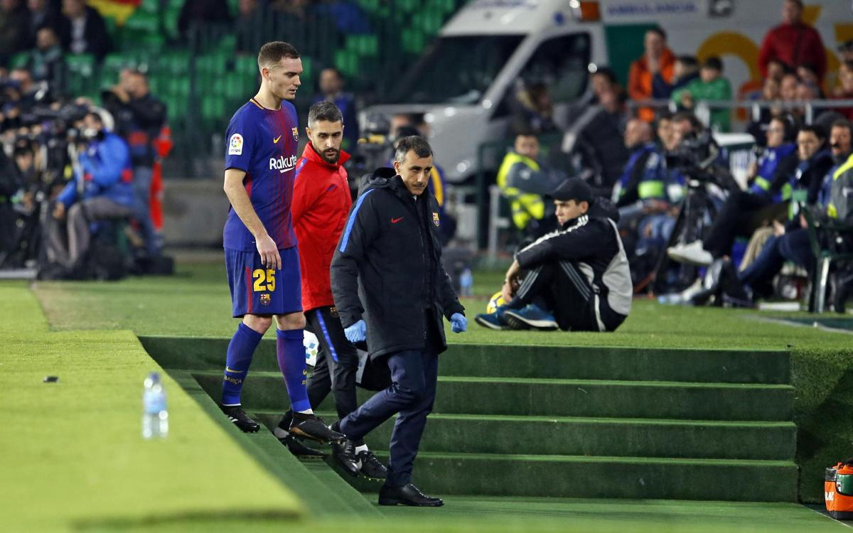 Thomas Vermaelen, further tests on hamstring injury