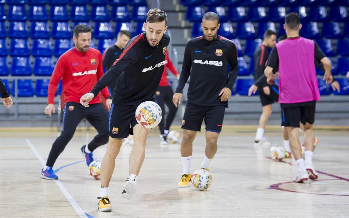 El Barça Lassa ya prepara el derbi contra Catgas