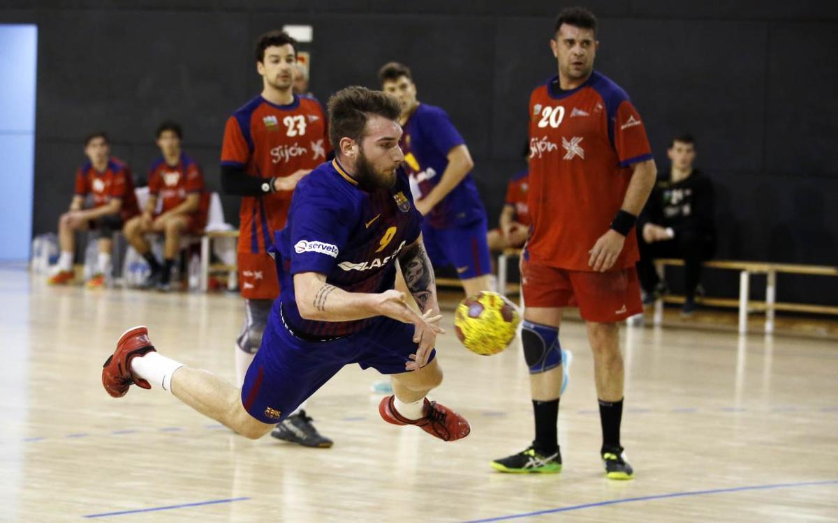 Barça Lassa B – RGCC Covadonga: Oficio y mejora para volver a ganar en casa