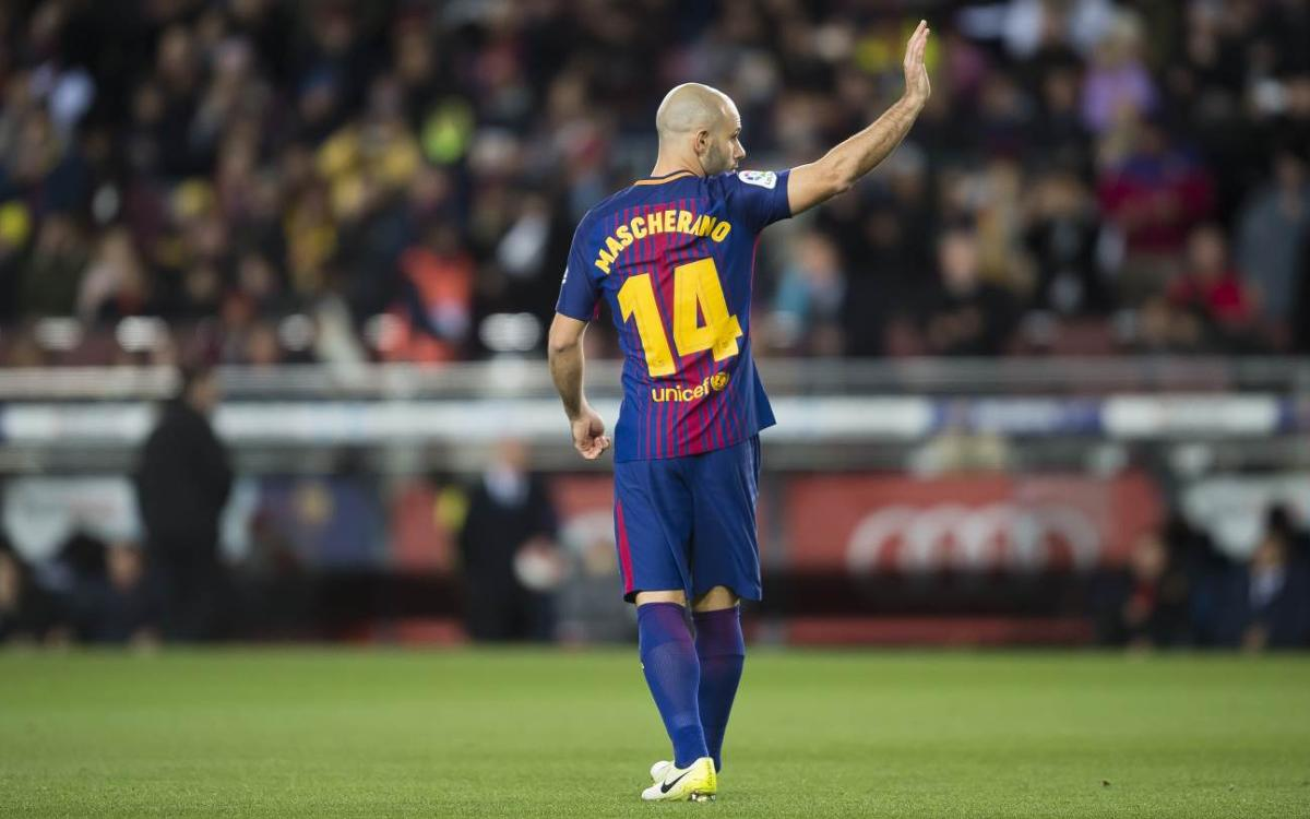 Agreement with Hebei Fortune for the transfer of Javier Mascherano