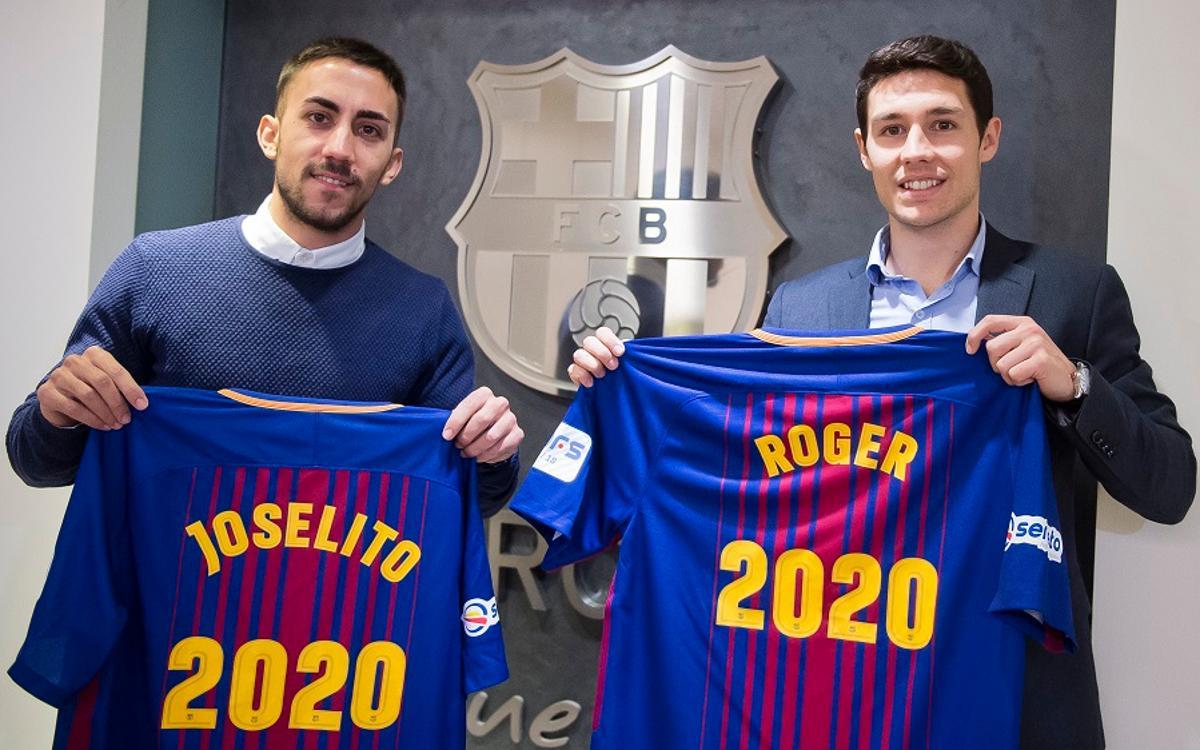 Joselito y Roger renuevan hasta el 2020