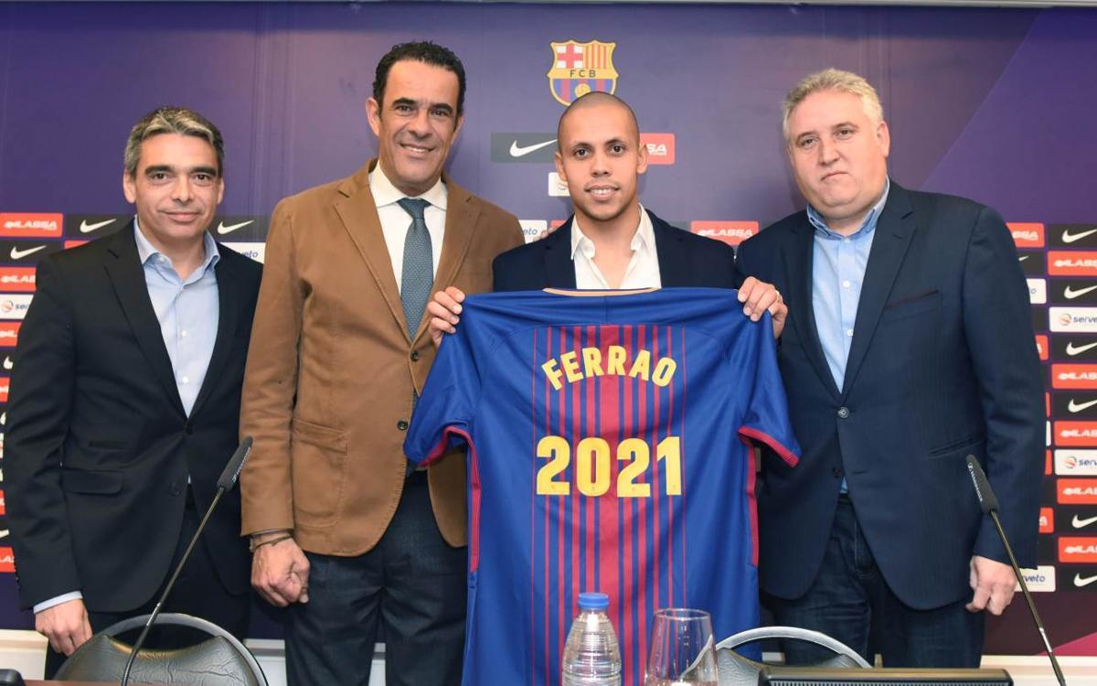 Ferrao renova amb el Barça Lassa fins al 2021