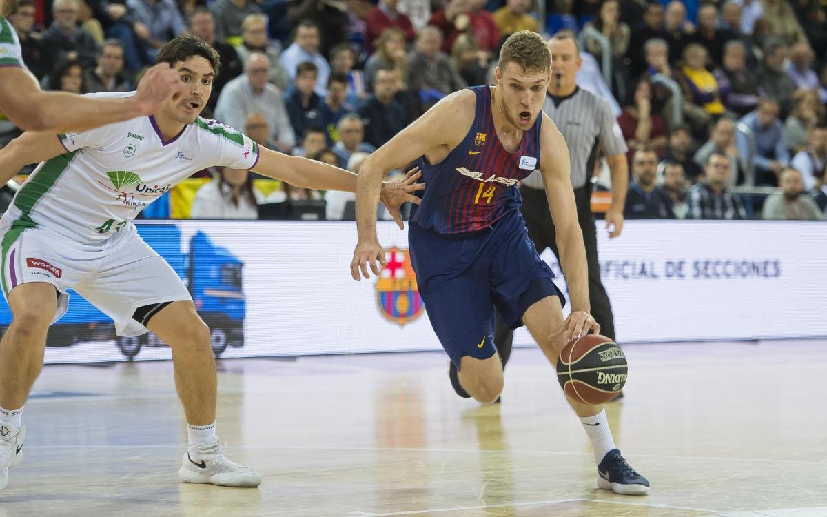 Barça Lassa-Unicaja Málaga: Reacción insuficiente en un final de infarto (73-76)