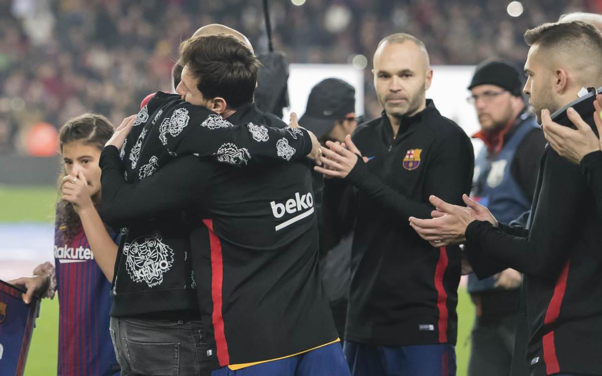 Mascherano's last day at the Camp Nou