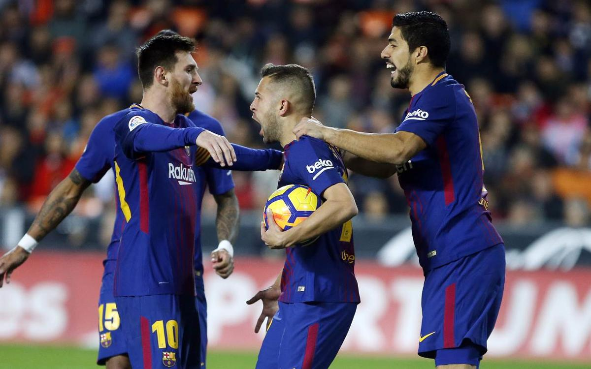 Match Report: Valencia 1-1 FC Barcelona: Entertaining point in Mestalla