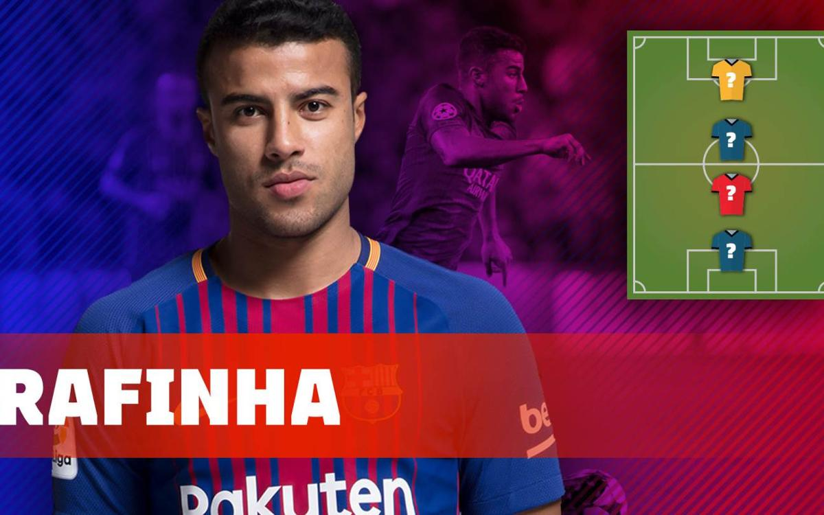 Rafinha's Top 4 favourite players