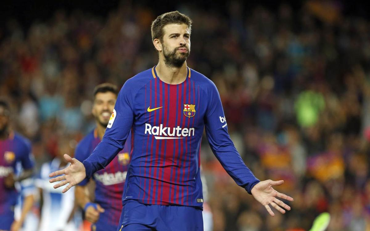 Gerard Piqué will sign his new contract on Monday